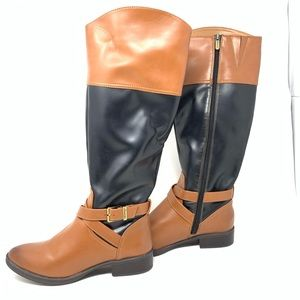 Circus Sam Edelman Boots Brown Leather Knee High